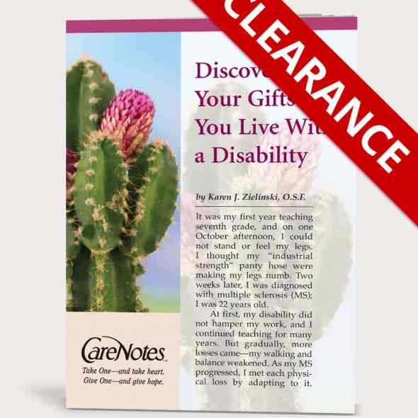 Discovering Your Gifts As You Live With a Disability