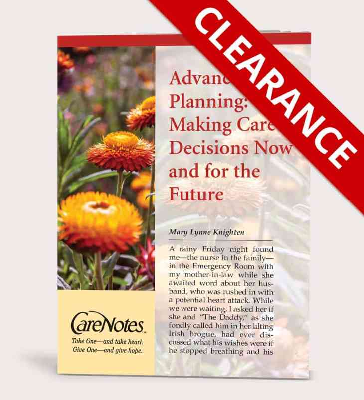 Advance Care Planning: Help for Making Care Decisions Now and for the Future