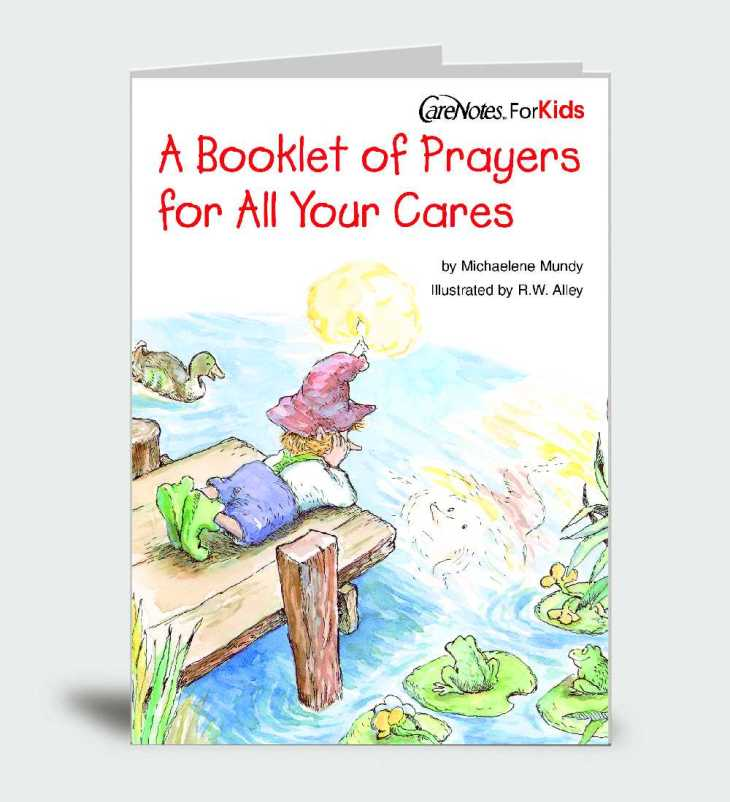 A Booklet of Prayers for All Your Cares