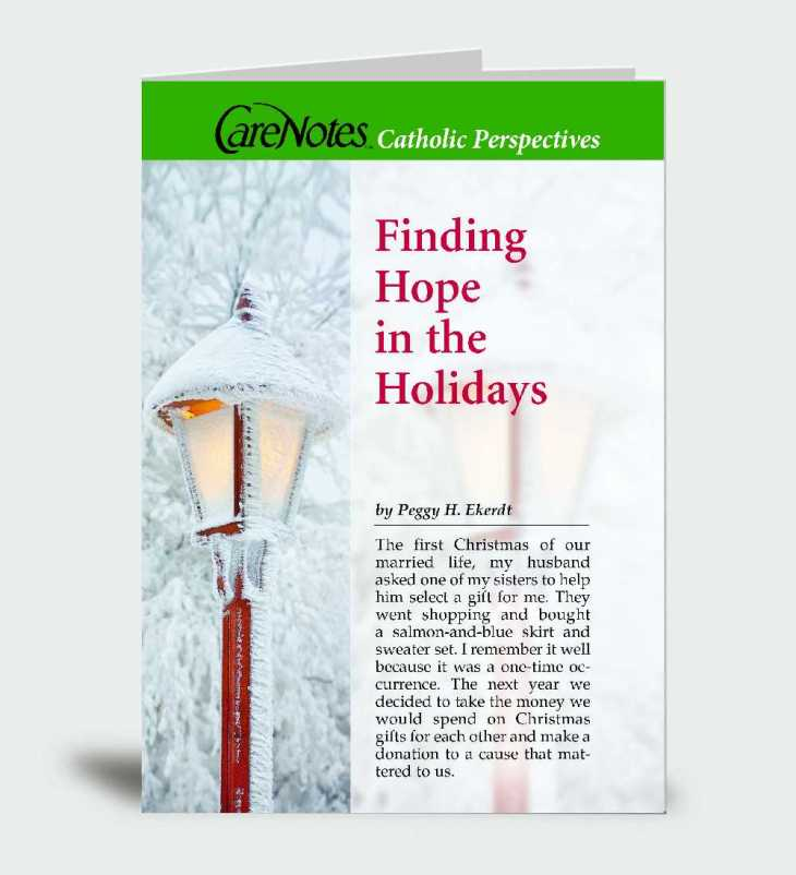 Finding Hope in the Holidays