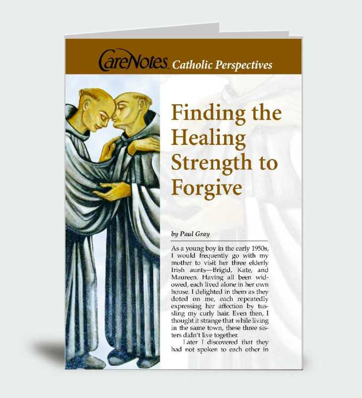 Finding the Healing Strength to Forgive