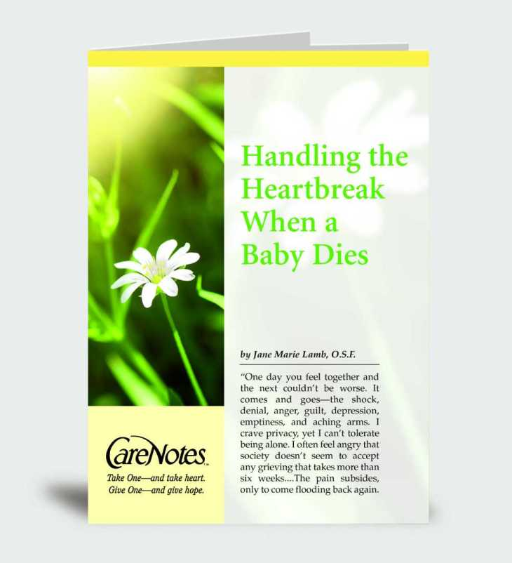 Handling the Heartbreak When a Baby Dies