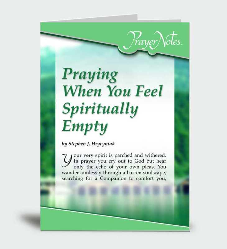 Praying When You Feel Spiritually Empty