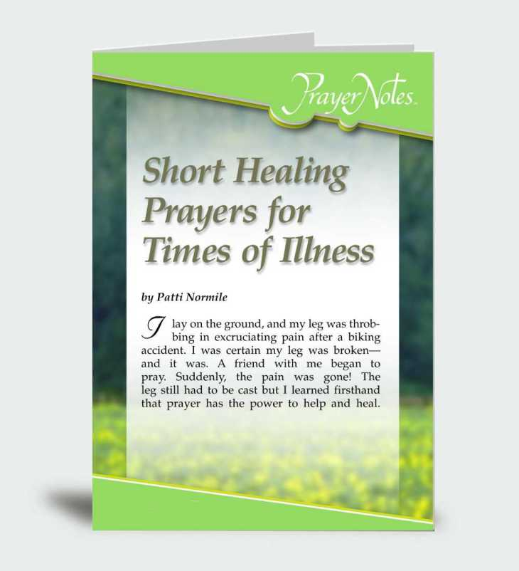 Short Healing Prayers for Times of Illness