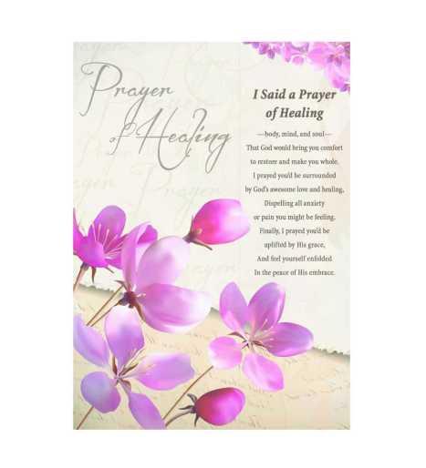 Prayer of Healing CareCard