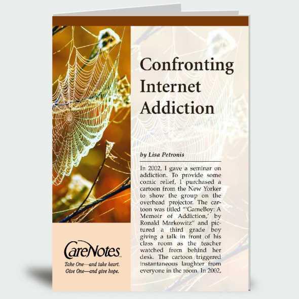 Confronting Internet Addiction