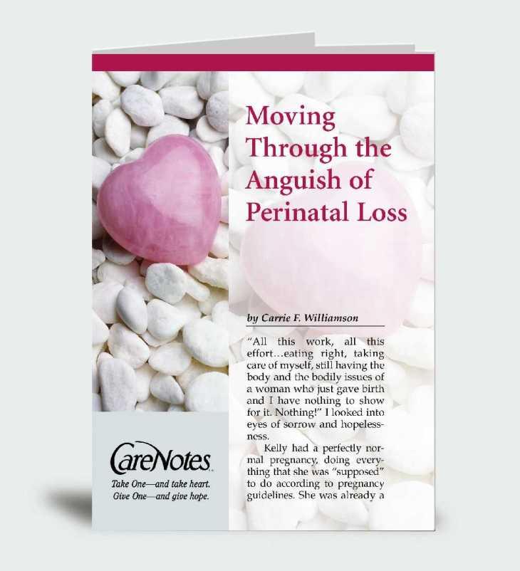 Moving Through the Anguish of Perinatal Loss