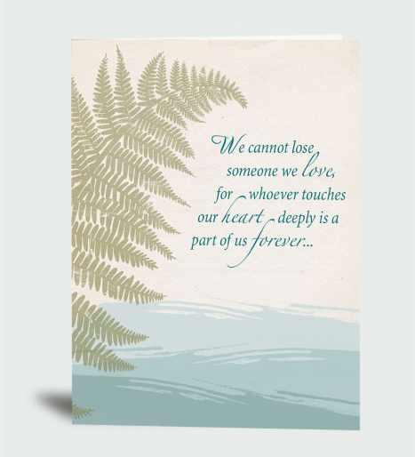We cannot lose someone we love… CareCard