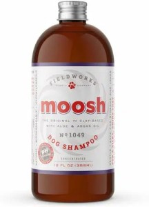 Moosh Natural Dog Shampoo for dry itchy skin and allergies