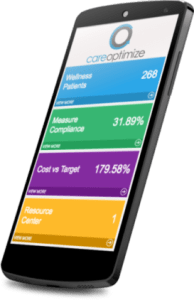 CareOptimize Mobile Dashboard