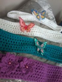 Butterfly head bands