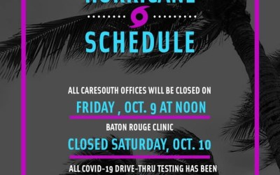 CareSouth offices closing early Friday in preparation for Hurricane Delta