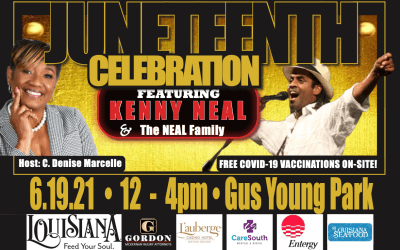 Annual Juneteenth Celebration June 19, CareSouth will offer COVID-19 vaccinations