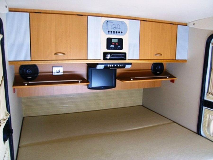 2 person kitchen table ice maker caretta camping trailers | 1500