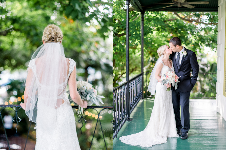 A Intimate Wedding At Ernest Hemingway House Key West