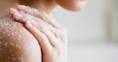 How to exfoliate every body part at home in hindi ?