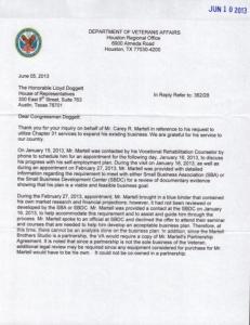 VA final letter 1