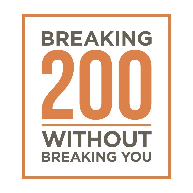 Breaking 200 Video Course