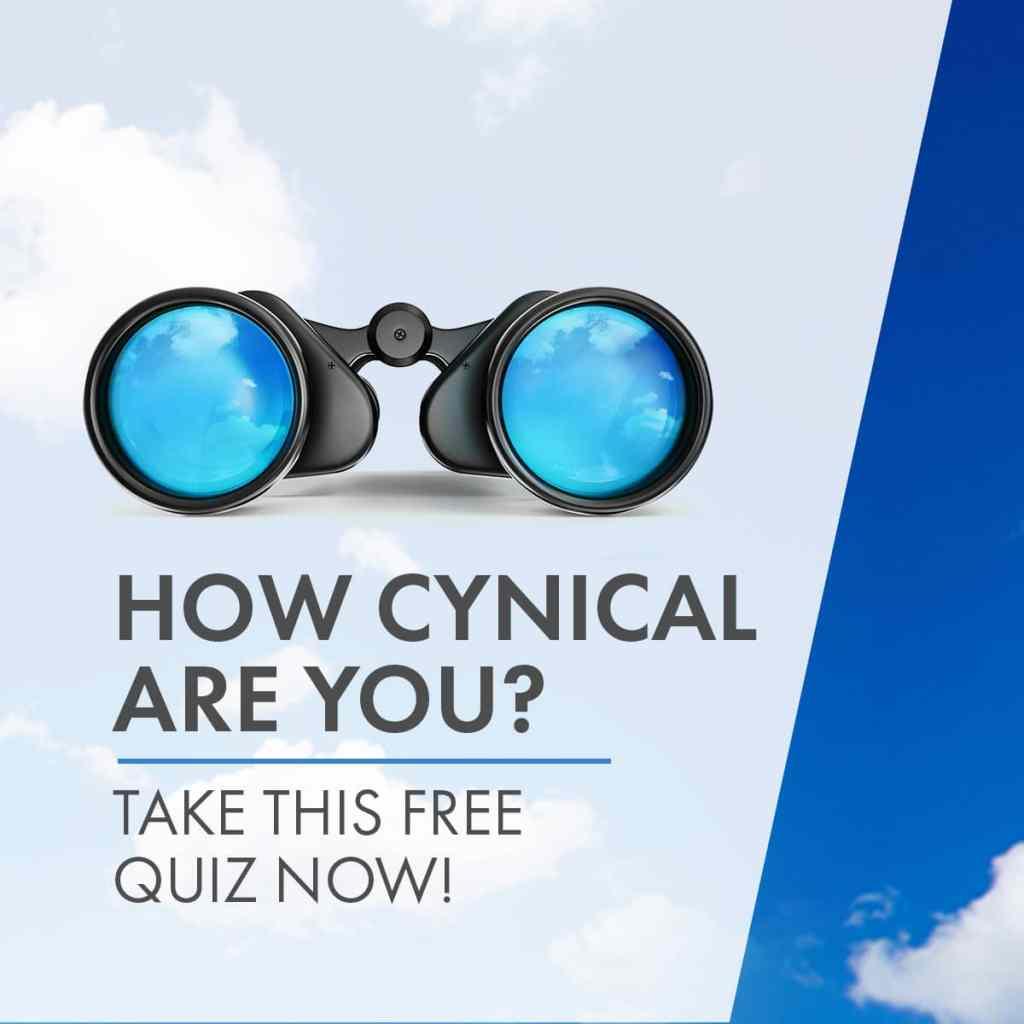 Cynicism Quiz Ad