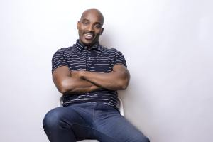Photo of Sam Collier sitting in a chair