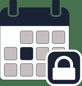 Calendar locked2
