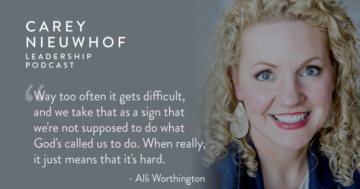 CNLP 388: Alli Worthington on What Successful Leaders Did to Thrive in the Crisis, How Cheerleaders Can Harm You as a Leader, and Overcoming Negative Thinking