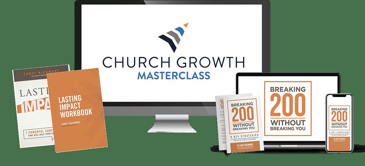 New Church Growth Masterclass Bundle Small