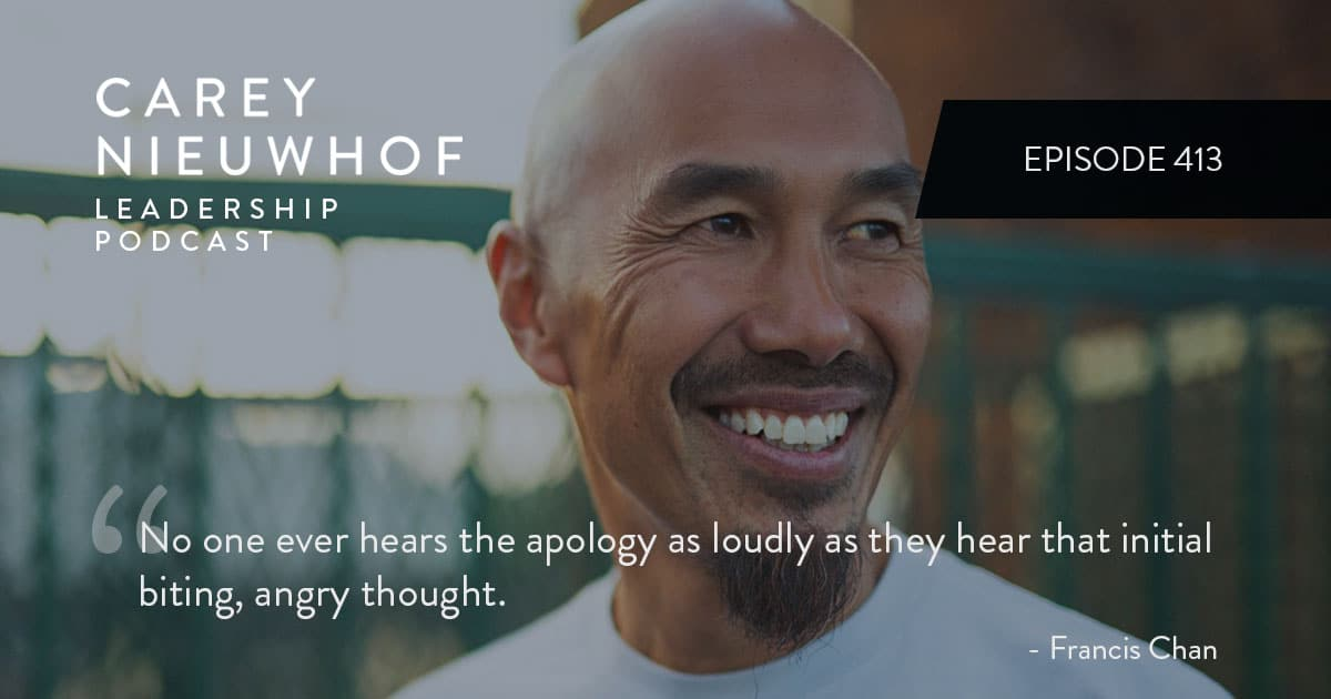 CNLP 413: Francis Chan on Escalating Division, Asian Hate, and Why Influence in the Church Can't Come from Self-Promotion