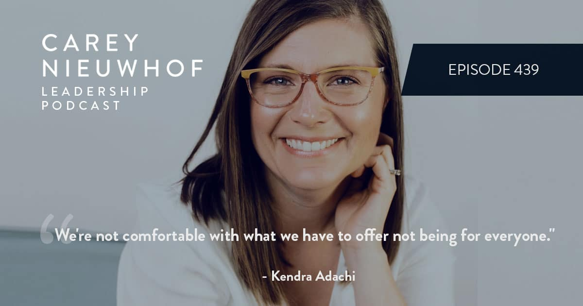 CNLP 439: Kendra Adachi on How to Decide What to Be a Genius At, What to Be Lazy About and How to Dismiss the Negative Voices in Your Head