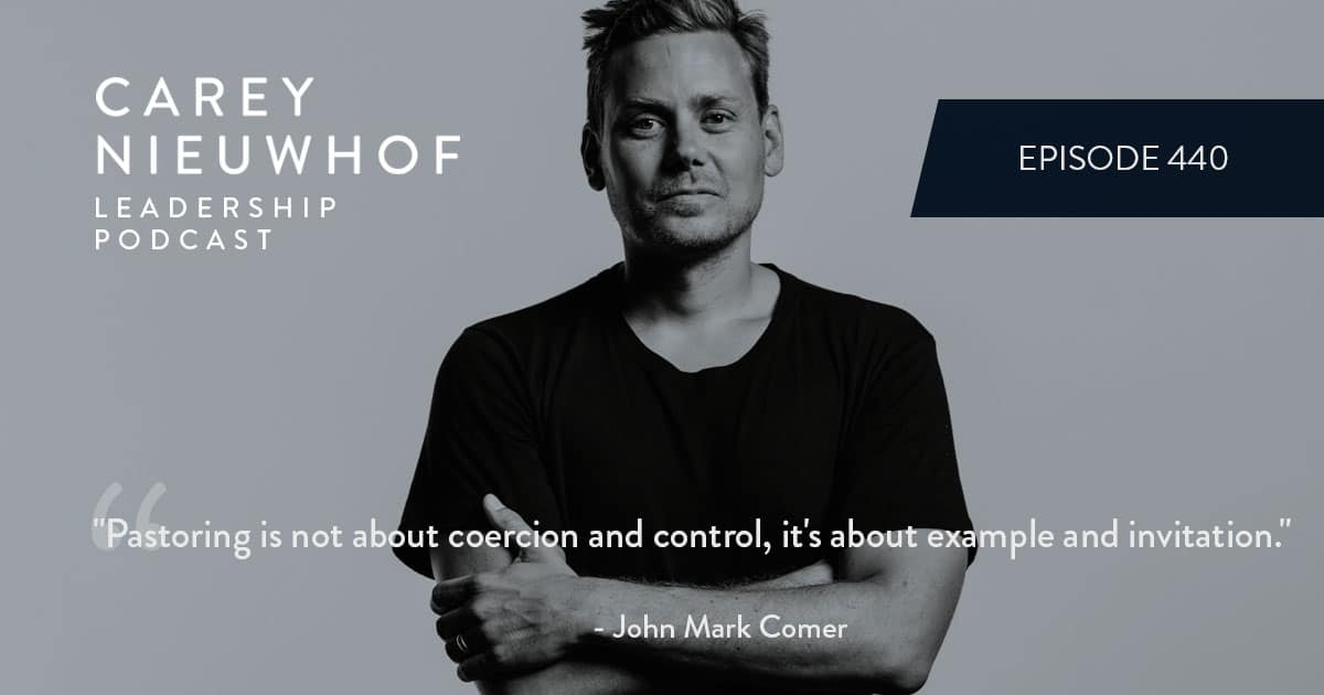 CNLP 440: John Mark Comer on Why We Believe Lies About Freedom, Sex, Truth and Culture, How the Left and the Right Fail, and the Way Forward for the Church