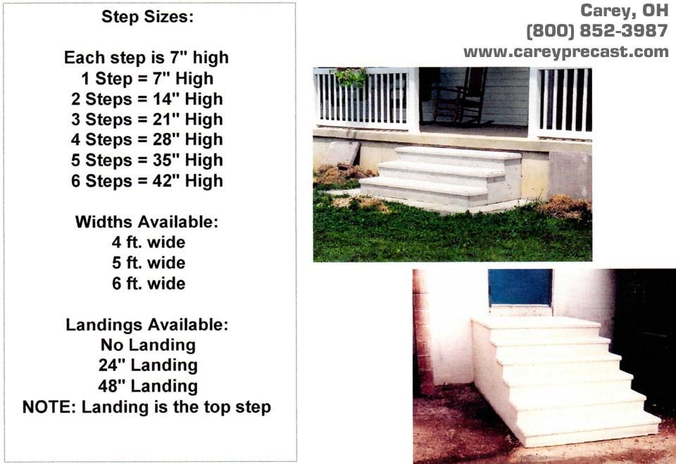 Precast Steps Carey Precast Concrete Co Carey Precast Concrete Co   Precast Concrete Basement Steps   Basement Ideas   Image   Bethel Ct   Permentry   Basement Walls