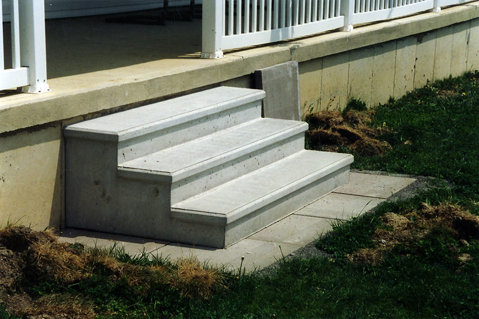 Project Gallery Carey Precast Concrete Co Carey Precast   Precast Concrete Basement Steps   Bilco Doors   Bilco   Basement Entrance   Concrete Wall   Concrete Products