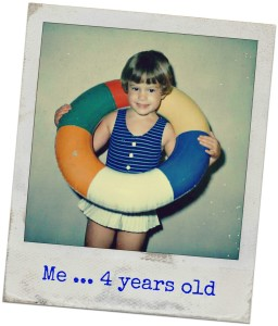 Me at 4 years old