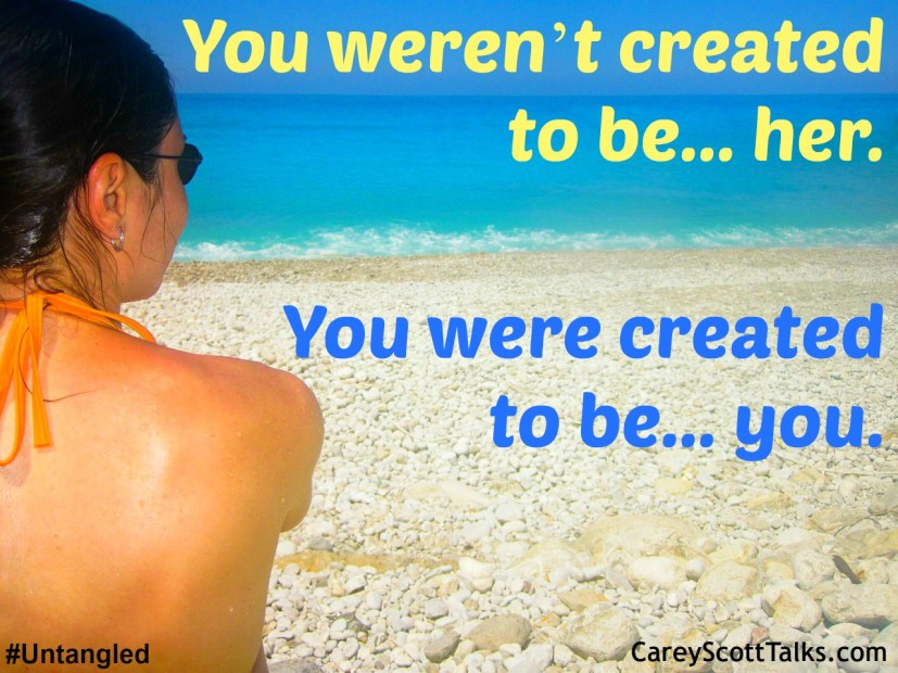 you werent created