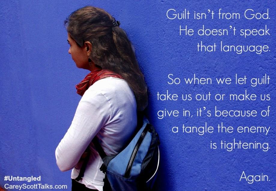 guilt isnt from God