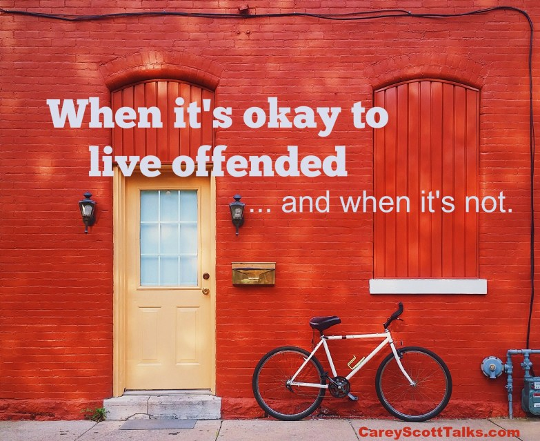 live offended