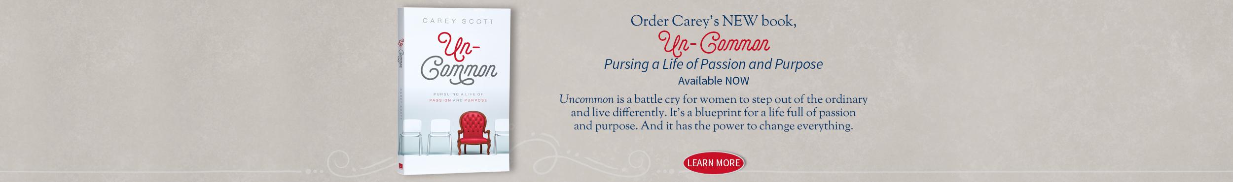 Carey Scott - Uncommon