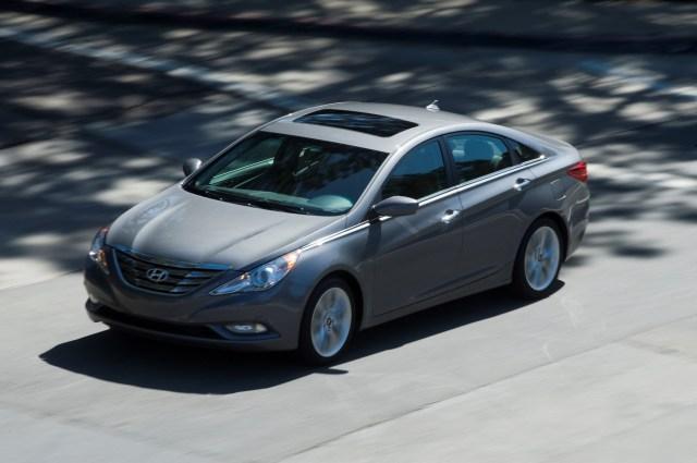2011 Hyundai Sonata Chrome Moldings