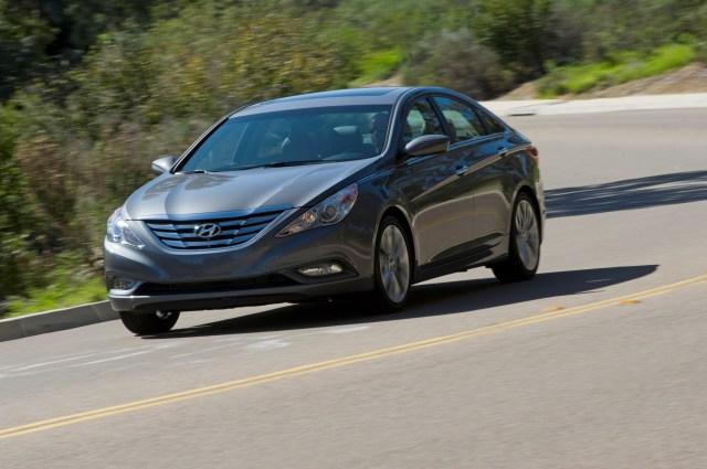 Hyundai 2011 Chrome Moldings Sonata