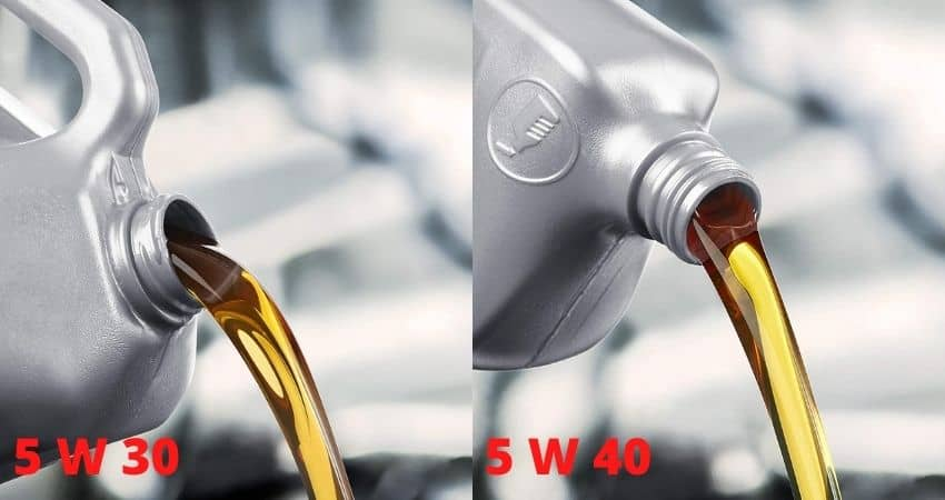 Can I Use 5w40 Instead of 5w30