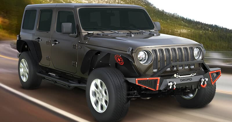 Front Bumper for Jeep Gladiator