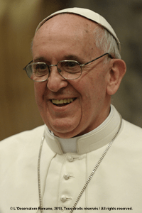 Official Photograph of Pope Francis