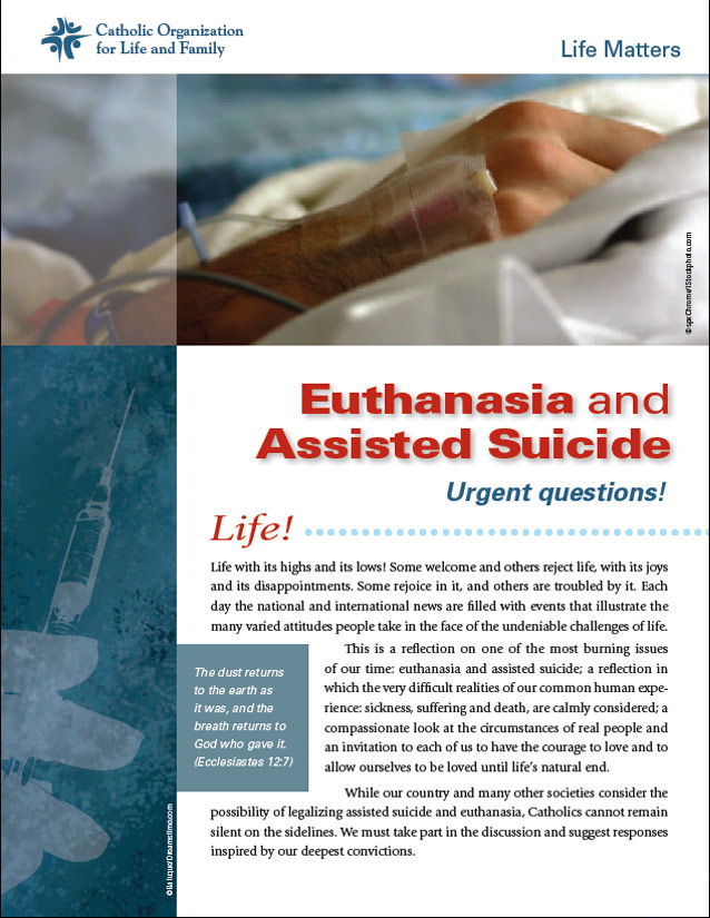 COLF Resources on Euthanasia and Assisted Suicide