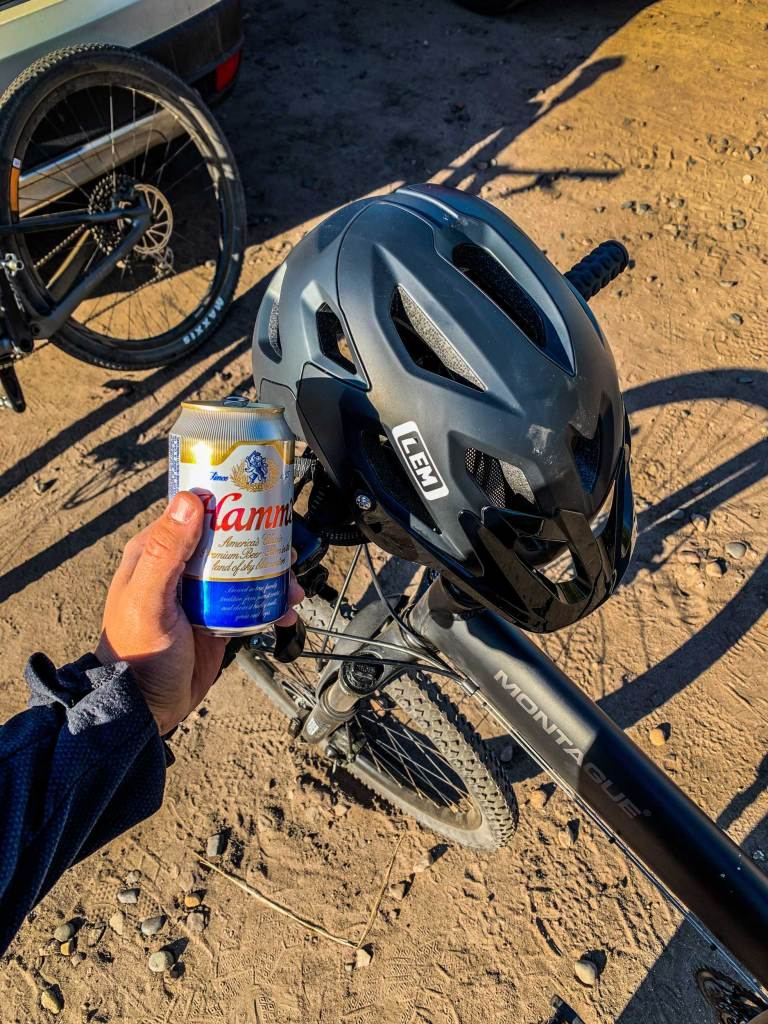 LEM Flow Helmet and Hamms.