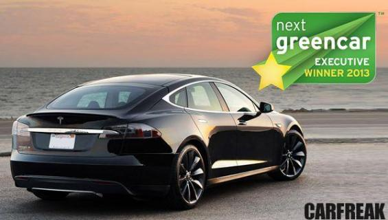 Tesla Model S - Next Green Car Executive Winner 2013