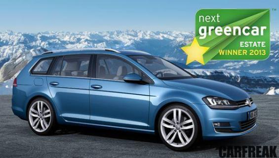 VW Golf Estate - Next Green Car Family Estate Winner 2013