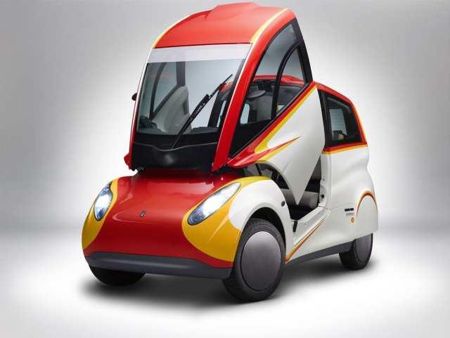 Shell unveils ultra energy efficient concept car