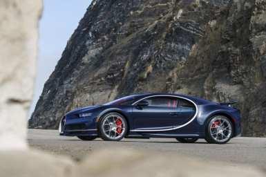 Bugatti Chiron at The Quail: A Motorsports Gathering