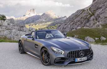 The new Mercedes-AMG GT C Roadster