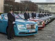 Rolls-Royce chauffeurs prepare for Elephant Family Animal Ball
